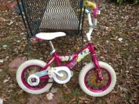 "Hi there I have a nice Disney Princess 12"" bicycle that"