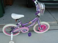Nice Disney Princess bikes in great condition. Hardly