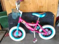 I am selling a girls Disney princess 12 in bike, my
