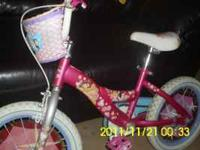 VERY NICE GIRLS DISNEY PRINCESS BIKE GOOD CONDITION