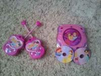For sale are: Princess walkie talkies. Barely ever