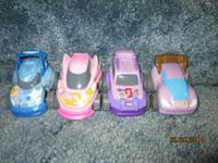 Disney princess cars that have pull back action and