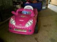 Disney Princess Convertible Car $75 OBO e-mail call or