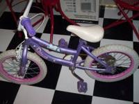 for sale little girls disney princess bike...seems to