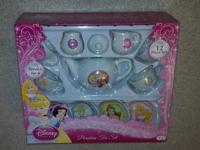 Disney Princess Porcelain Tea Set NEW 12pc. Hours of