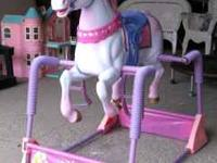 Disney Princess Spring Riding Horse Let your little