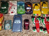 For sale is  Disney's Cars  great deal of 12  VEHICLES
