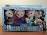 Brand new in box, hard to find Frozen finger puppet