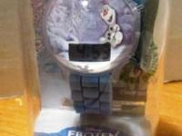 Disney's Frozen Kids' Olaf Digital Light-Up Watch