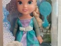 DISNEY'S FROZEN TODDLER ELSA. BRAND NAME NEW IN BOX.