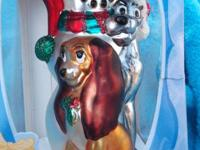 DISNEY'S LADY AND TRAMP SANTA'S BEST EUROPEAN STYLE