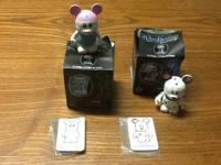 "I have two  3"" collectible figures from Disney's"