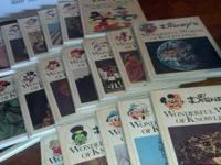 We have a beautiful set of the full 20 volumes of Walt