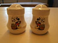 Walt Disney Productions matching shakers. 1 has 4 holes