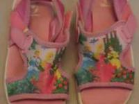 Disney Princess Sandals Size 9/10 DisneyStore Brand Can