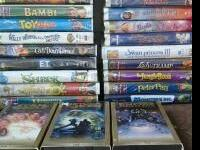I have about 60 Disney movies for VHS for $1.50 each. I