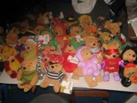 Individual collection of over 60 Disney Store MBBP