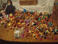 Disney Toys by the hundreds. Lion King, Toy Story