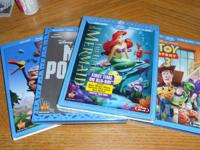 I am selling some rarely watched used DISNEY Blu Rays,