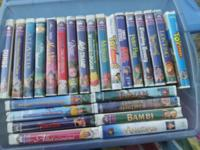 I have Lots of Disney VHF Movies 1. Dumbo 2. Hunchback