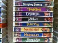 I have all of these Disney movies from when I was a