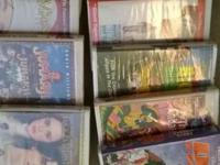 Lots and lots of Disney VHS movies for sale and more!
