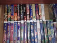 Disney VHS tapes. $100 or best offer.