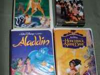 Disney videos all on VHS Disney's SingAlong Songs -