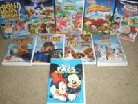 Lot of 10 Disney DVD's, all in excellent condition!! $4