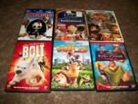 This is a collection of 6 terrific Disney DVDs, all are