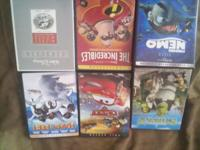 Sorry the pic is upside down. Many more kids dvds