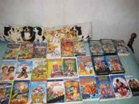 I have 25 Disney, Rugrats, Power Rangers and other kids