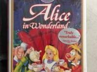 Original Disney's VHS cassette Alice in Wonderland in