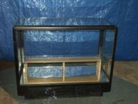 Display Cabinet For Collectibles ,Glass Sides And Top,