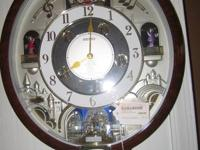 Lovely wall clock with a Beatles play checklist-- very