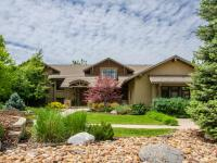 Distinguished craftsman style custom home, situated on