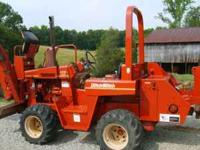 I have a 4010 Ditch Witch Diesel W 1225 hrs new paint