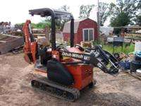The 2005 Ditch Witch XT850 excavator Comes with 4