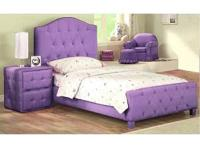 Purple twin sized bed brand new! call/text   Location: