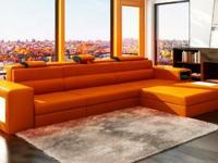 Divani Casa Polaris Mini - Contemporary Leather