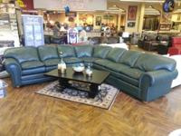 Divani 100% Leather Sectional For Sale * American Made