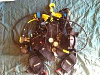 Mares Ariel size Medium, Mares regulator MR12dfc, Mares