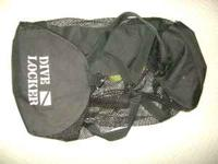 1 - Dive Locker gear bag w/storage on one end, carry