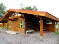 The Divide Rider's Hostel is a beautiful and rustic,