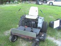 "Dixie Chopper 50"" 17 horse commercial mower 3 acres per"