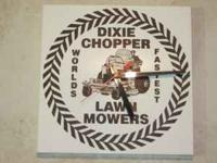 Dixie Chopper Clock. $40.00  Location: N.E. INDY