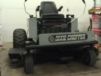 XW2202 model. 22 HP Kohler engine. Runs excellent. 60""
