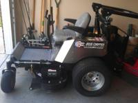 2010 Dixie Chopper Silver Eagle zero turn lawn mower