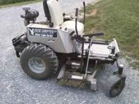 This mower is a 2005 Dixie Chopper, Silver Eagle,