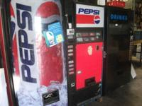 Dixie Narco Soda Machines Used Has a good working